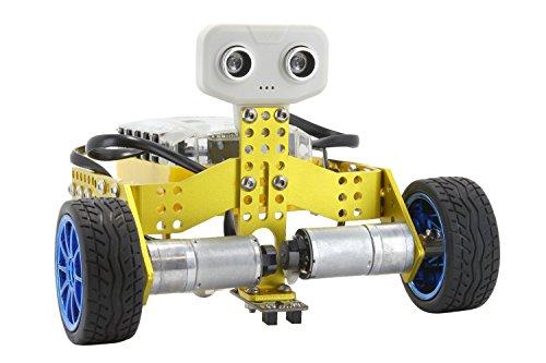 Tenergy Odev Tomo 2-in-1 Transformable DIY STEM Education Programmable Robot Kit