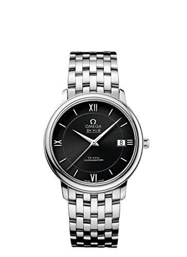 Omega DeVille Prestige Co-axial reloj para hombre 424.10.37.20.01.001 por Omega: Amazon.es: Relojes