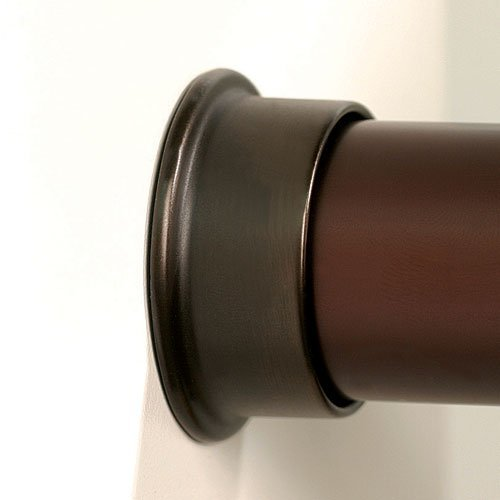 HAFELE Round Closet Rod Flanges   Oil Rubbed Bronze