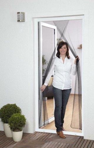 Culex 100450101-CU - Mosquitera para puertas (2 x 60 x 210 cm), color blanco