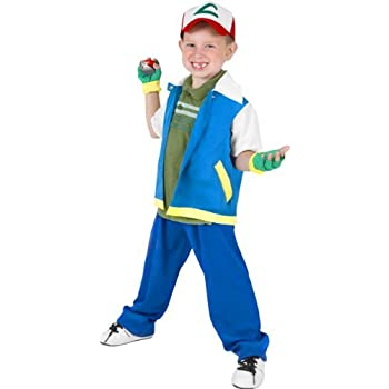 fun plus childs pokemon ash halloween costume small 4 7 by by