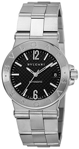 BVLGARI Diagono black dial Men watch DG35BSSD