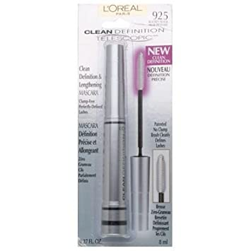 Amazon.com: L Oreal Paris Telescopic Mascara Clean ...