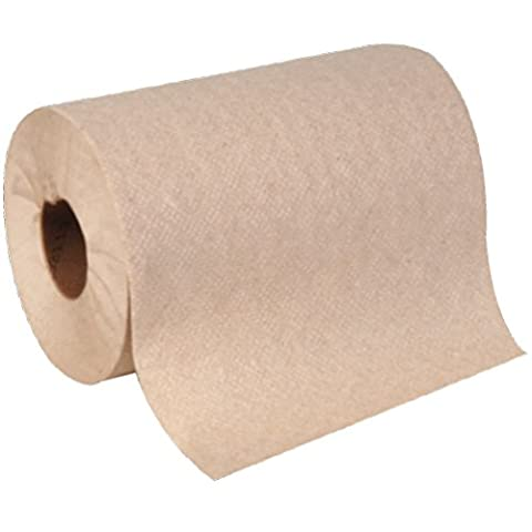 Georgia-Pacific Envision 26008 Brown Hardwound Roll Paper Towel, 350' Length x 7.875