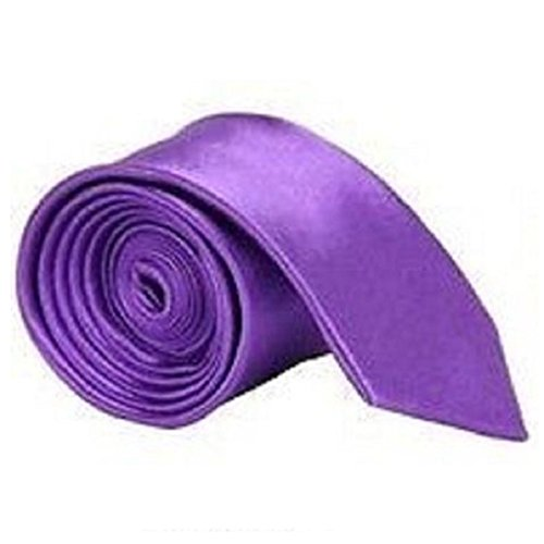 Plain Satin Wedding Purple Plain Classic Necktie Tie Solid Men's Various Colour WSqHTnUnw