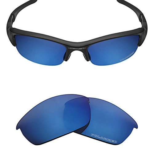 Mryok+ Polarized Replacement Lenses for Oakley Flak Jacket - Pacific - Jacket Oakley Polarized Flak Lenses