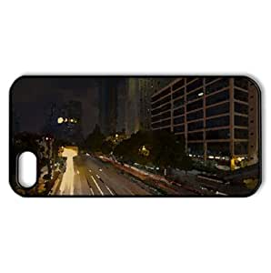 Shanghai China Watercolor style Cover iPhone 5 and 5S Case (China Watercolor style Cover iPhone 5 and 5S Case)