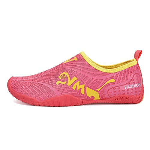 Image of FLARUT Kids Water Shoes Girls Boys Quick-Dry Outdoor Aqua Socks Easy Walking Beach Swimming Pool Surf Yoga