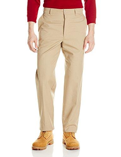 Red Kap Men's Cell Phone Pocket Pant, Khaki, 34W x ()