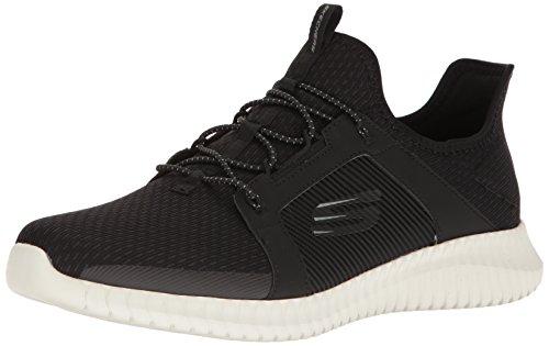 Skechers Menns Elite Flex Mote Sneaker Svart / Hvit