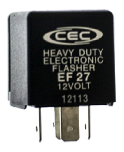 EF27 Electronic Turn Signal Flasher Relay 5 Prong CEC Industries