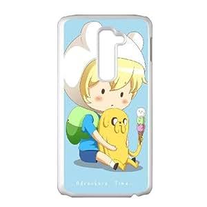 Finn The Human LG G2 Cell Phone Case White as a gift P4824783