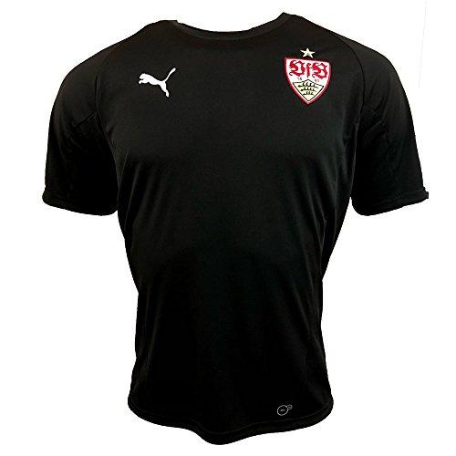 PUMA 2018-2019 VfB Stuttgart Training Jersey (Black) ()