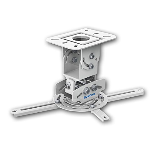 qualgear-prb-717-wht-universal-ceiling-mount-projector-accessory