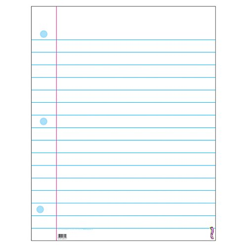 Trend Enterprises Wipe Off Surface Notebook Paper Chart (TEPT1095)]()