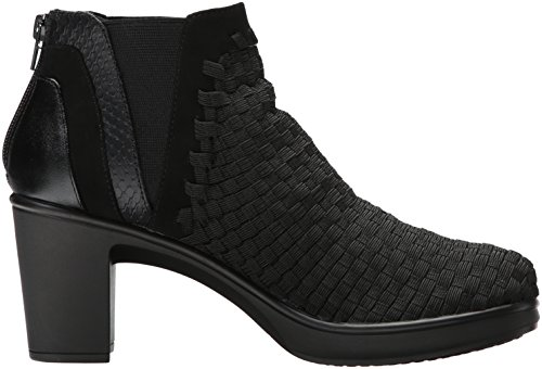 EXCIT by NC Multi Boot STEVEN Women's Steve Madden Black wnAdICqXT