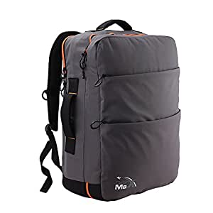 Cabin Max Edinburgh mochila equipaje de mano 50x40x20cm (gris/ naranja)