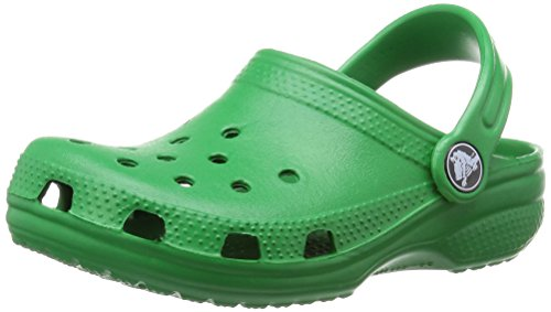 crocs Classic Kids Clog (Toddler/Little Kid), Kelly Green, 6/7 M US Toddler by Crocs