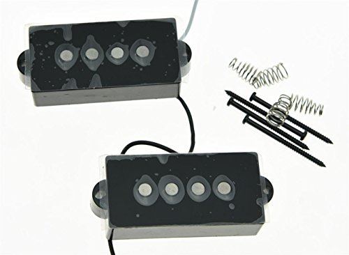 KAISH Black Alnico 5 Vintage Sound Precision Bass Pickups for sale  Delivered anywhere in Canada