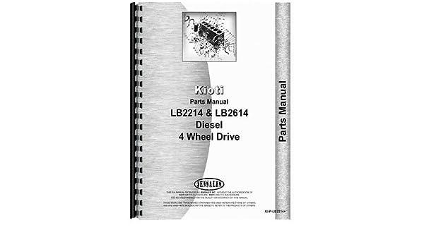 New kioti tractor parts manual ki p lb2214 amazon books fandeluxe Images