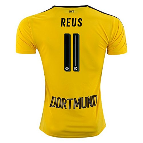 edbd4ac2b58 lovely Borussia Dortmund 2016 - 2017 Home Soccer Jersey REUS 11 Men s Color  Yellow Size XL
