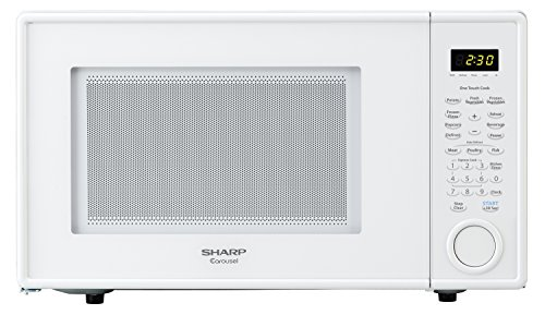 Sharp Countertop Microwave Oven ZR309YW 1.1 cu. ft. 1000W White (Microwave Oven Small White compare prices)