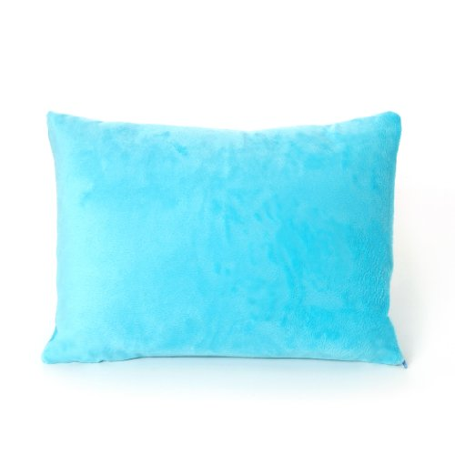 My First Premium Memory Foam Kids Toddler Pillow with Pillowcase, Blue, 12 x 16