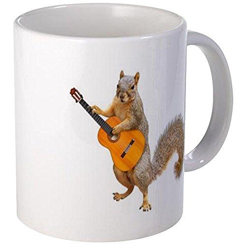 CafePress Squirrel Acoustic Guitar Mugs Unique Coffee Mug, Coffee Cup ()