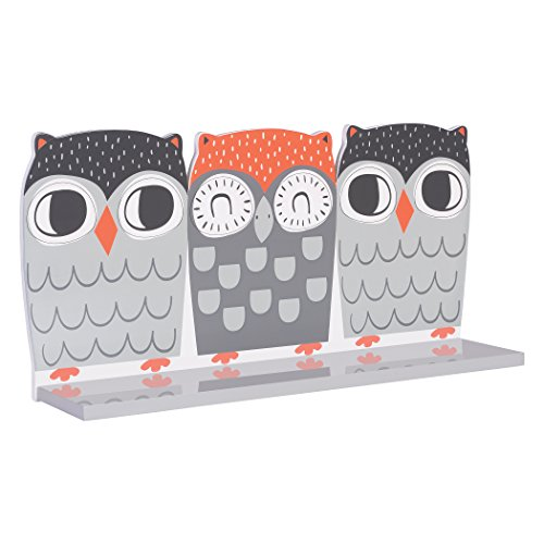 Trend Lab Olive Owl Wall Shelf, Multi by Trend Lab