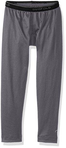 - Duofold Big Boys' Mid Weight Varitherm Thermal Pant, Smoked Pearl, S