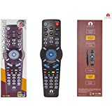 Cezo Learning Remote Controller for TV CBL DVD AUX SAT Audio System (Made in Korea)