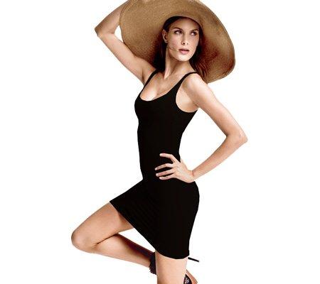 a537892fe1a09 Cass Luxury Shapewear Skinny Scoopy Dress 9046 Black Small Medium   Amazon.ca  Clothing   Accessories