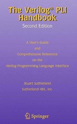 the verilog pli handbook a user s guide and comprehensive reference rh amazon com Icon Reference Guide Chemistry Reference Guide