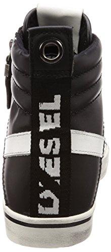Uomo Diesel Velows D Sneakers P1738 Black Mid 40 Y01759 4qtr4xY