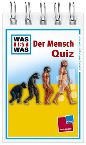 Was Ist Was Quizblock  Der Mensch  120 Fragen Und Antworten  Mit Spielanleitung Und Punktewertung
