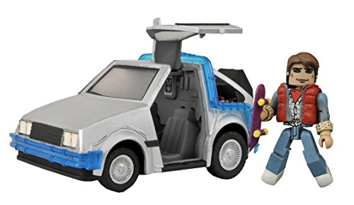 Diamond Select Toys Back to The Future: 30th Anniversary Time Machine Minimates Vehicle