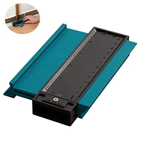 Leegoal Contour Gauge, Irregular Profile Measuring Gauge Copy Gauges Carpenters Measurement Duplicator Tool,120mm/125mm