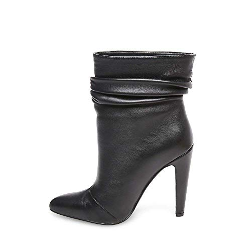 Calysta Us 9 Bootie Steve Dress Women's Black 5 Leather Madden qwxzpOxE