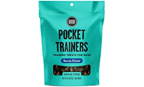 Bixbi Pocket Trainers Dog Treats, Bacon, 6 Ounce