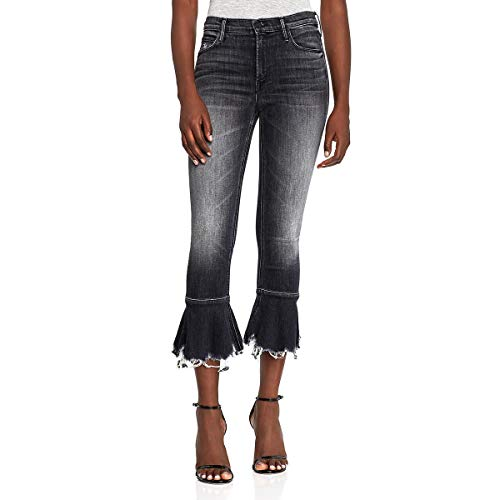 MOTHER Cha Cha Chew Flared High-Rise Cropped Jeans