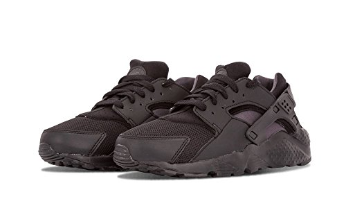 Nike Air Huarache Run GS (Black/Anthracite) Triple Black