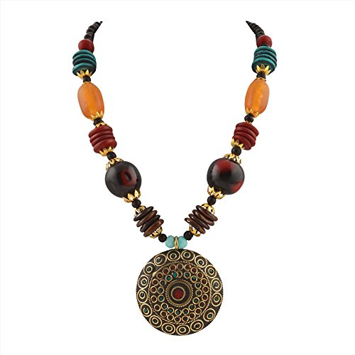 Zephyrr Fashion Handmade Tibetan Style Long Necklace for Women