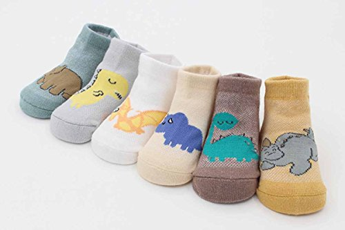 Amazon.com : Happy Cherry 6 Pairs Cartoon Cotton Socks for Baby Boys Infant Toddler-Random Color : Baby
