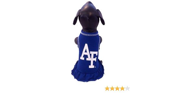 NCAA Air Force Falcons Cheerleader Dog Dress X-Small