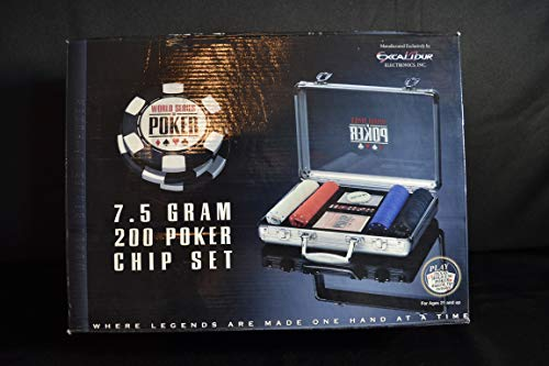 World Series Of Poker 7.5 Gram 200 Poker Chip Set
