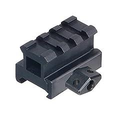 UTG Med-pro Compact Riser Mount, 0.83