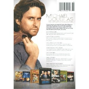 Michael Douglas: The Definitive Collection (A Chorus Line, Don't Say a Word, Jewel of the Nile, Romancing the Stone, The Sentinel, Wall Street, The War of the Roses)