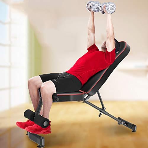 Adjustable Benches Dumbbell Banco de Fitness Silla Sentadillas Equipo de Fitness casa Equipo de Ejercicio pájaro Banco Taburete Bancos: Amazon.es: Hogar