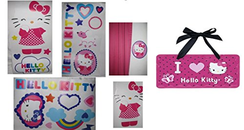 Hello Kitty Room Accessories - Hello Kitty Room Decor Bundle - 2 Items: 12
