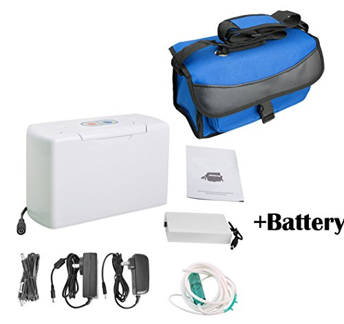Battery Oxygen Concentrator Portable - 4